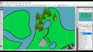 Making a Pine Forest for Fantasy Map