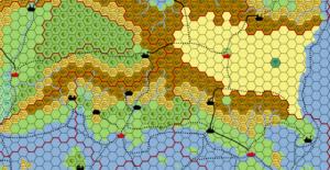 Worldographer Map Example