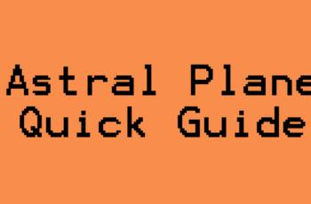 guide to astral plane 5e