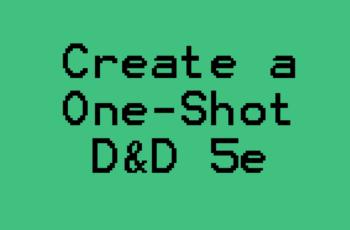 D&D 5e One-Shot