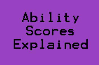 Ability Scores 5e Cover